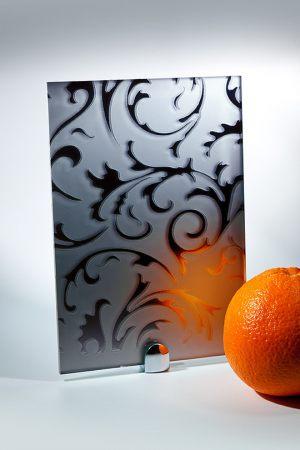 """Зеркало """"Барокко"""" матовое графит Химки"""