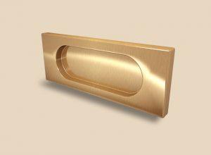 Ручка Золото глянец прямоугольная Италия Химки