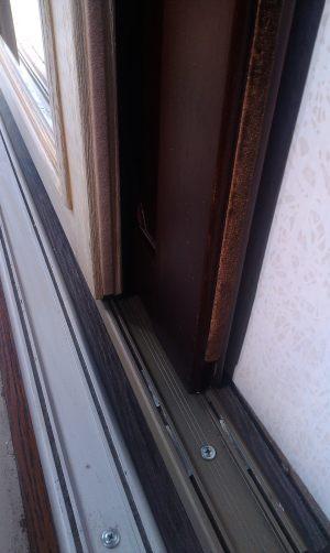 Двери массив на нижней направляющей Химки