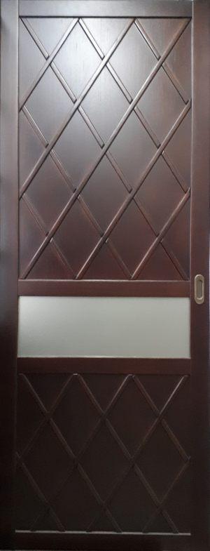 Вставка в дверь с фигурной филенкой Химки