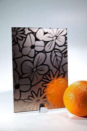 "Зеркало ""Цветы"" бронза Химки"