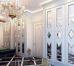 Двери с делителем наклейкой Химки
