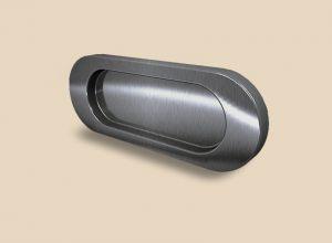Ручка серебро глянец овальная Италия Химки