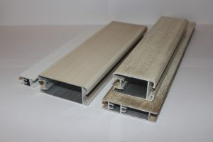 Профиль алюминиевый для шкафа купе, межкомнатных перегородок эмаль +патина Химки