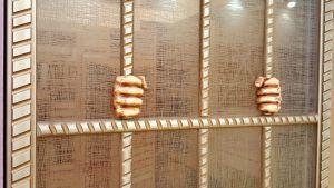 Алюминиевый профиль для шкафа купе эмаль с декоративной накладкой Химки