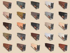 """Алюминиевый ламинированный профиль """"HOLZ"""" для шкафов купе и межкомнатных перегородок Более 100 цветов Химки"""
