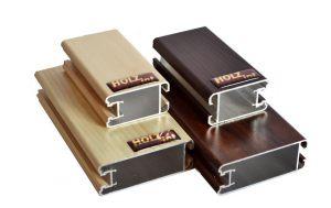 """Ламинированный профиль """"HOLZ"""" для шкафа купе и межкомнатной перегородки Химки"""