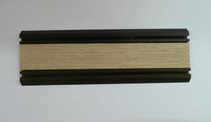 Направляющая нижняя для шкафа-купе вкладка шпон Химки