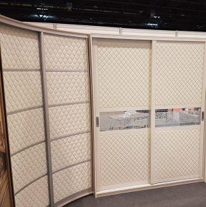 Вставки в двери с 3D эко кожей Химки