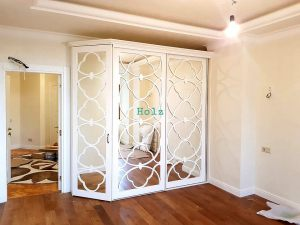 Двери с фигурной филенкой, эмаль Химки